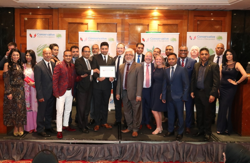 CFOB Annual Dinner Exceeds Expectation
